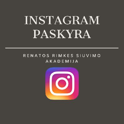 siuvimo kursai instagram