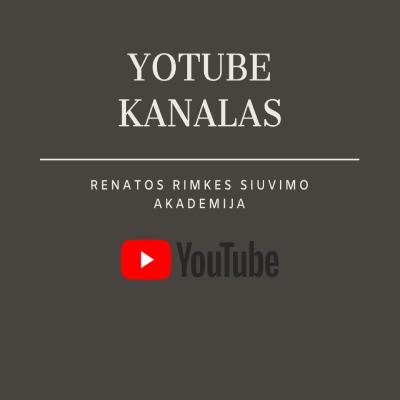 siuvimo kursai youtube kanalas